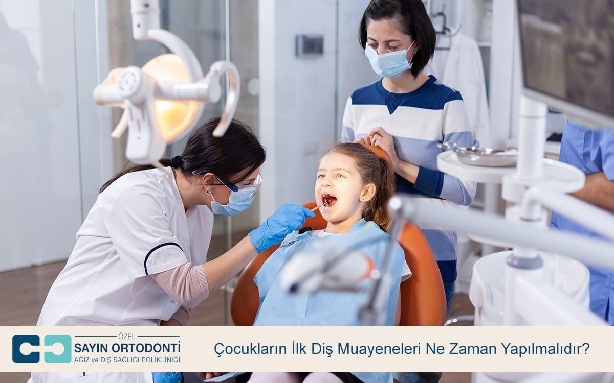 Çocukların İlk Diş Muayeneleri Ne Zaman Yapılmalıdır?