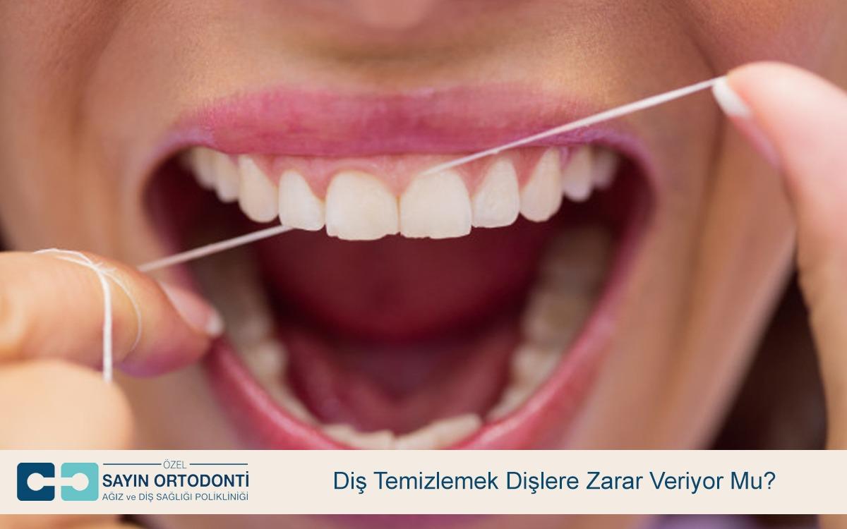 Diş Temizlemek Dişlere Zarar Veriyor Mu