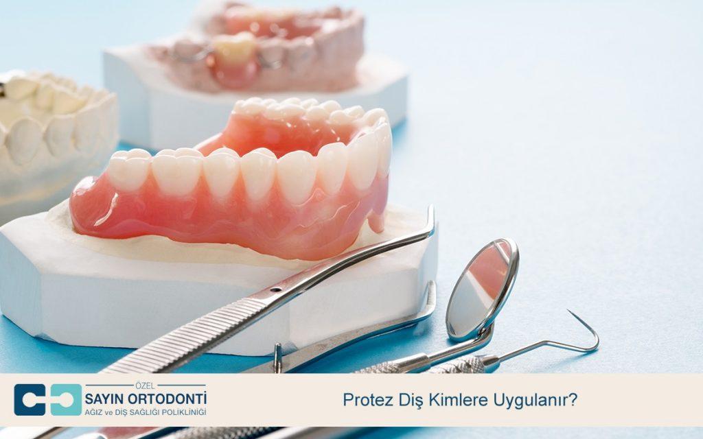 Protez Diş Kimlere Uygulanır